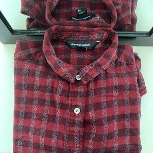 AA plaid shirt